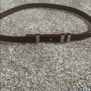 Micheal Kors Brown Belt